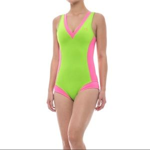 Glidesoul XS neoprene swimsuit NWT